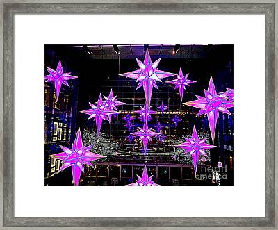 Holiday Under The Stars Framed Print by Ed Weidman