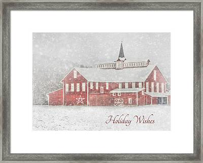 Holiday Wishes Framed Print by Lori Deiter