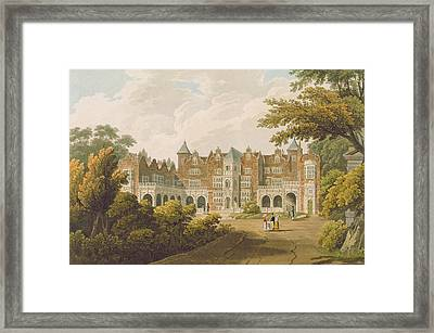 Holland House, The Seat Of The Right Framed Print by J.C. Smith
