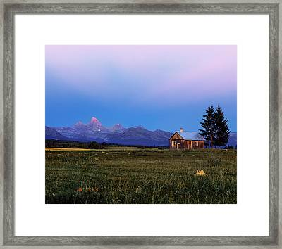 Hollingshead Ranch Framed Print by Leland D Howard