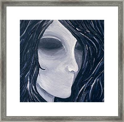 Hollow Framed Print by Monica Veraguth