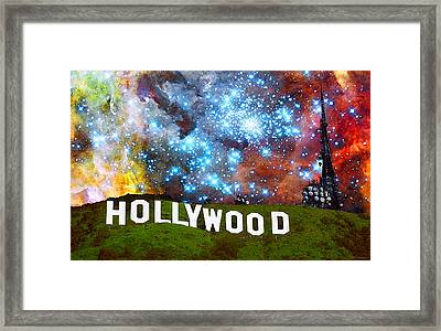 Hollywood 2 - Home Of The Stars By Sharon Cummings Framed Print by Sharon Cummings