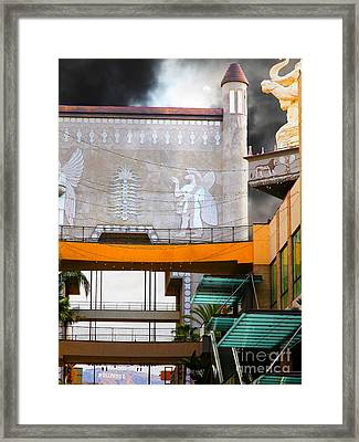 Hollywood And Highland Center Babylon Court 5d29087 Framed Print by Wingsdomain Art and Photography