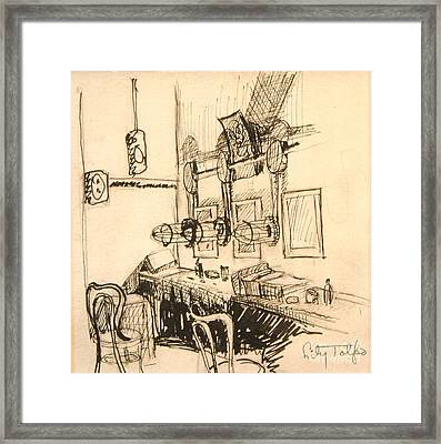 Hollywood Cowgirls' Dressing Room - 1939 Framed Print by Art By Tolpo Collection