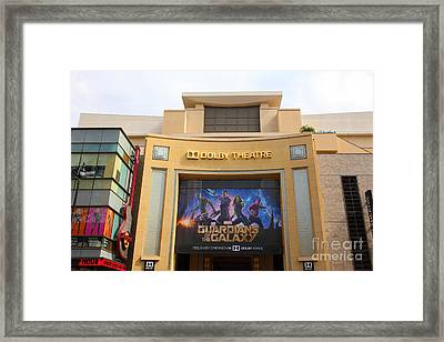 Hollywood Dolby Theatre 5d29089 Framed Print by Wingsdomain Art and Photography