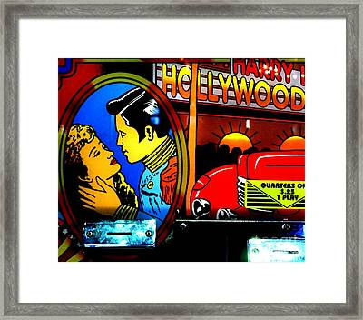 Hollywood Framed Print by Newel Hunter