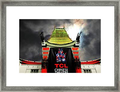 Hollywood Tcl Chinese Theatre 5d28983 Framed Print by Wingsdomain Art and Photography