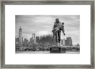 Holocaust Memorial  Framed Print by JC Findley