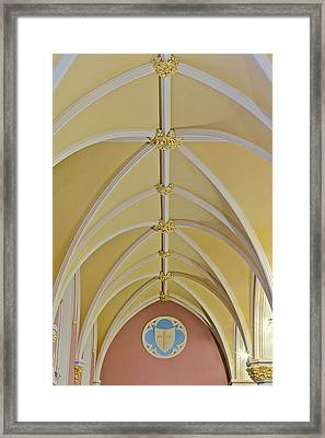 Holy Arches Framed Print by Susan Candelario