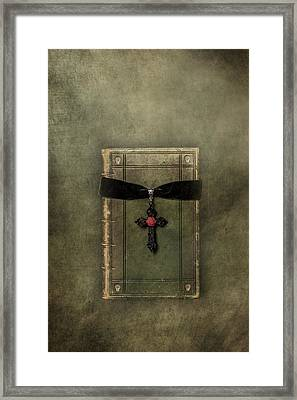 Holy Book Framed Print by Joana Kruse