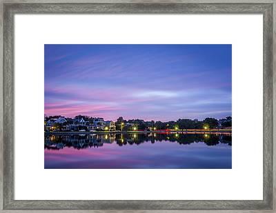 Holy City Reflections Framed Print by Steve DuPree