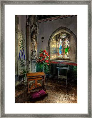 Holy Ground Framed Print by Adrian Evans