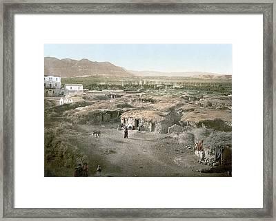 Holy Land Jericho, C1895 Framed Print by Granger