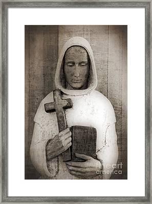 Holy Man Framed Print by Edward Fielding