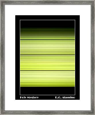 Holy Mystery Framed Print by Roberto Alamino