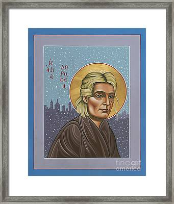 Holy Prophet Dorothy Day 154 Framed Print by William Hart McNichols