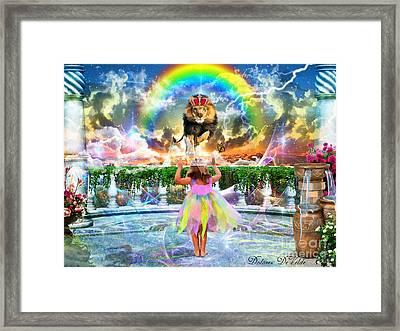 Holy Reverence Framed Print by Dolores Develde