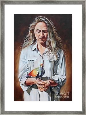 Holy Spirit Framed Print by Ilse Kleyn