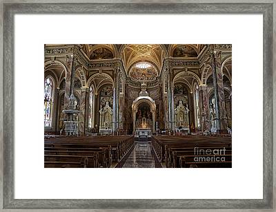 Homage To Pope Francis I Framed Print by David Bearden