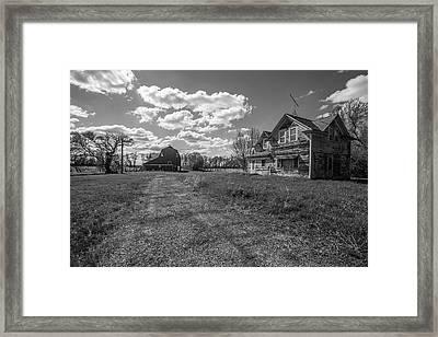 Home Framed Print by Aaron J Groen