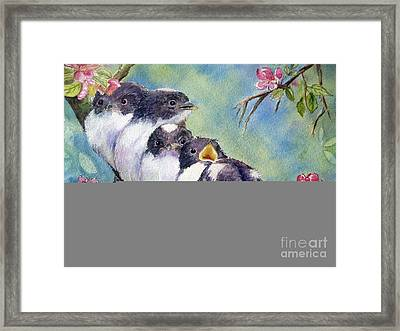 Home Alone Framed Print by Patricia Pushaw