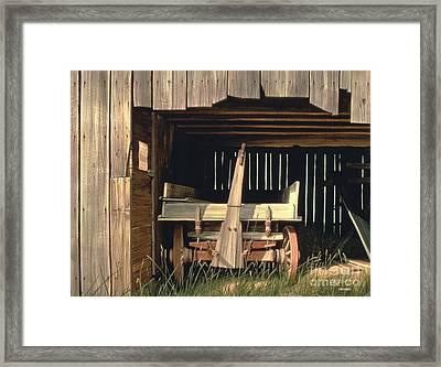 Misner's Wagon Framed Print by Michael Swanson