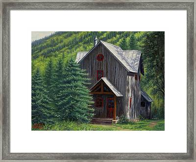 Home Away From Home Framed Print by Asa Gochenour