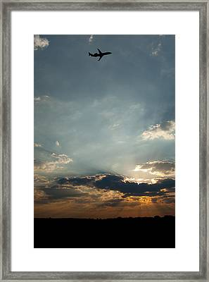 Home Bound  Framed Print by Paul Job