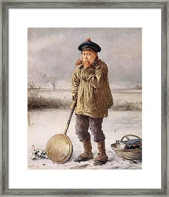 Home Comforts, 1874 Framed Print by Henry Benjamin Roberts