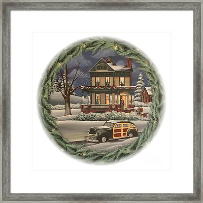 Home For The Holidays Framed Print by Catherine Holman