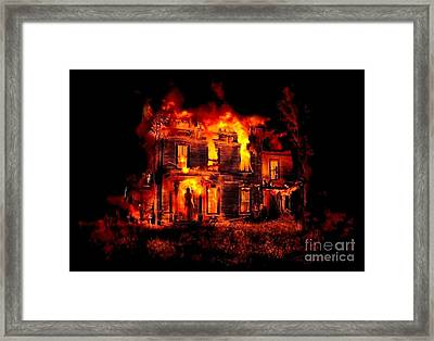 Home Forever Framed Print by Tom Straub