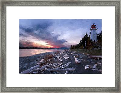 Home Framed Print by Gary Lyons
