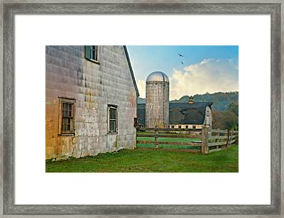 Clapboard Framed Print by Diana Angstadt