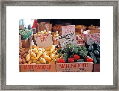 Home Grown Framed Print by Suzanne Gaff