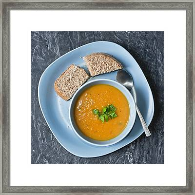 Home Made Soup Framed Print by Tom Gowanlock