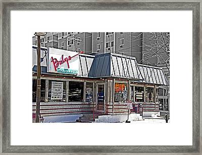 Home Of The Teeny Weenie Framed Print by Tom Gari Gallery-Three-Photography