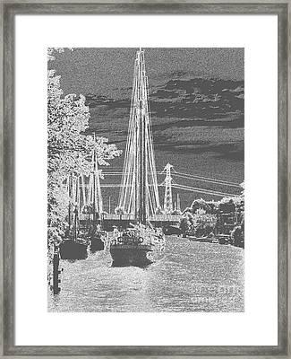 Home Sail Framed Print by Luc  Van de Steeg