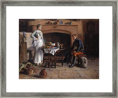 Home Sweet Home Framed Print by Charles Martin Hodges