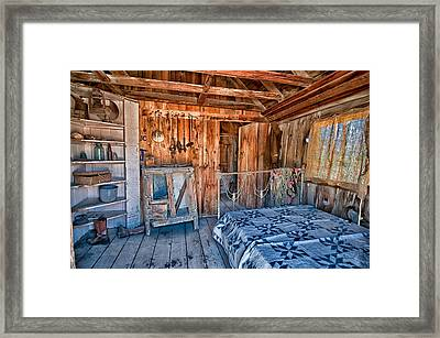 Home Sweet Home Framed Print by Cat Connor