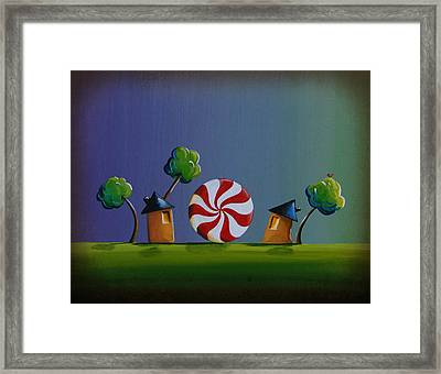 Home Sweet Home Framed Print by Cindy Thornton