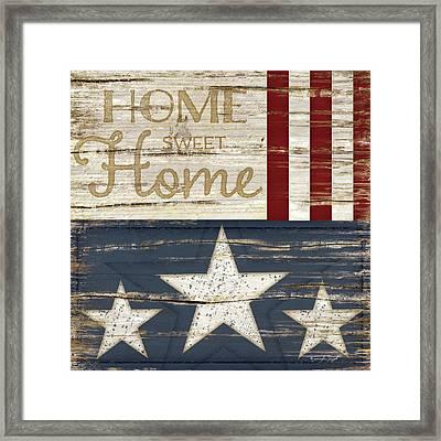 Home Sweet Home Framed Print by Jennifer Pugh