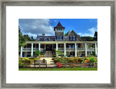 Home Sweet Home Framed Print by Mel Steinhauer