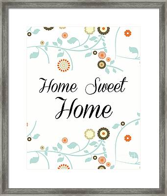 Home Sweet Home Framed Print by Pati Photography