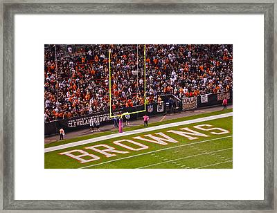 Home Team Framed Print by Frozen in Time Fine Art Photography