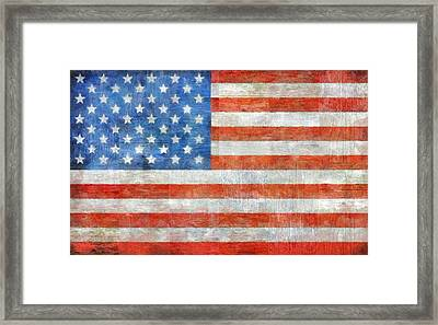 Homeland Framed Print by Michelle Calkins