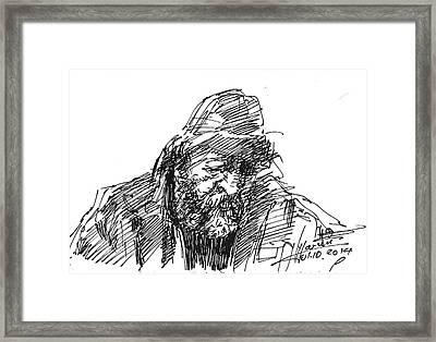Homeless Framed Print by Ylli Haruni
