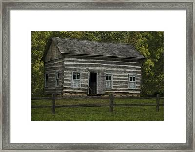 Homestead 3 Framed Print by Jack Zulli