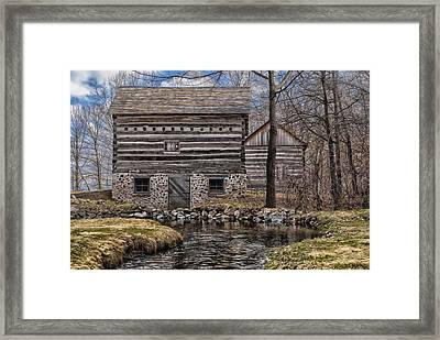 Homestead 5 Framed Print by Jack Zulli
