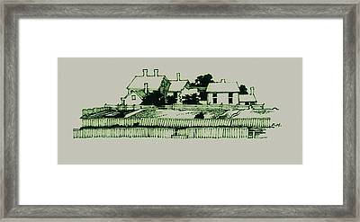 Homestead Framed Print by Dale Michels