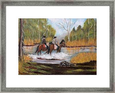 Homeward Bound Framed Print by Virginia Nickle